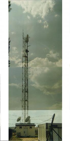 Ancien pylône de T.D.F. sis à Challuy (58000) au lieu-dit Le Vernay