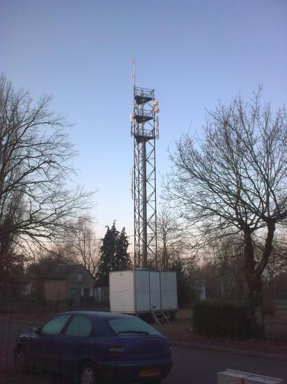 Pylône autoportant TOWERCAST (NRJ Group) à Nevers (58000) rue du Bois d'Ardenet